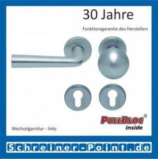Scoop Jericho PullBloc Rundrosettengarnitur, Rosette Edelstahl matt - Vorschau 5