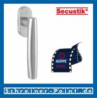 Hoppe Las Vegas Edelstahl Fenstergriff F69 Secustik E0440/US956, 1777461, 2072850 - Vorschau 1