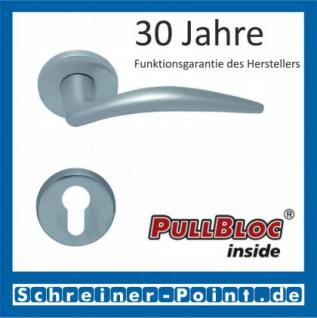 Scoop Lima PullBloc Rundrosettengarnitur, Rosette Edelstahl matt - Vorschau 2
