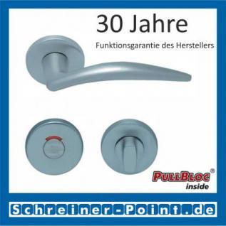 Scoop Lima PullBloc Rundrosettengarnitur, Rosette Edelstahl matt - Vorschau 4