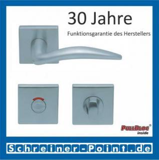 Scoop Lima quadrat PullBloc Quadratrosettengarnitur, Rosette Edelstahl matt - Vorschau 4
