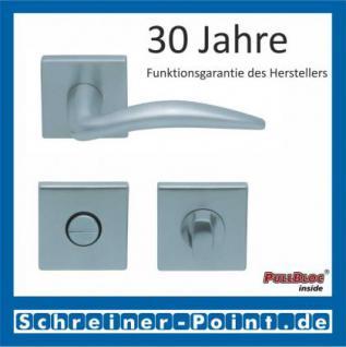 Scoop Lima quadrat PullBloc Quadratrosettengarnitur, Rosette Edelstahl matt - Vorschau 3