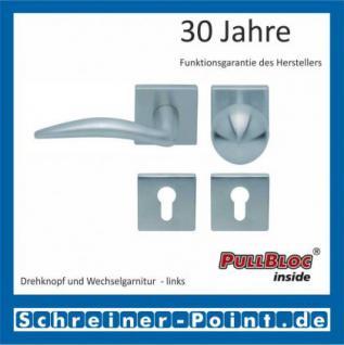 Scoop Lima quadrat PullBloc Quadratrosettengarnitur, Rosette Edelstahl matt - Vorschau 5