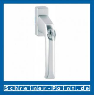 Hoppe London Aluminium Fenstergriff abschließbar F1 Natur 013S/U34, 808151, 819539, 8004525