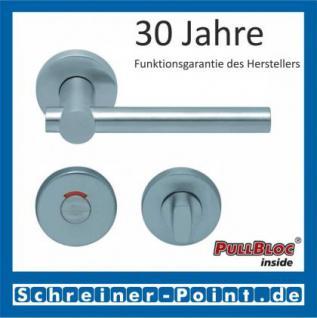 Scoop Maxima PullBloc Rundrosettengarnitur Rosette Edelstahl matt - Vorschau 4