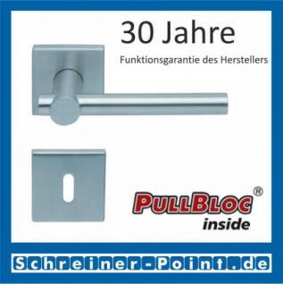 Scoop Maxima quadrat PullBloc Quadratrosettengarnitur, Rosette Edelstahl matt - Vorschau 1