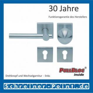 Scoop Maxima quadrat PullBloc Quadratrosettengarnitur, Rosette Edelstahl matt - Vorschau 5