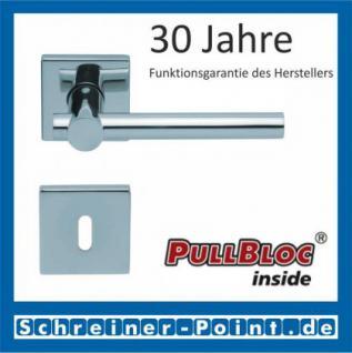 Scoop Maxima quadrat PullBloc Quadratrosettengarnitur, Rosette Edelstahl poliert - Vorschau 1