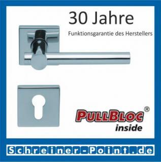 Scoop Maxima quadrat PullBloc Quadratrosettengarnitur, Rosette Edelstahl poliert - Vorschau 2