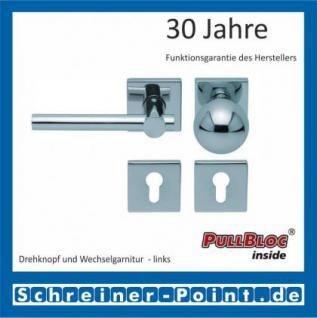 Scoop Maxima quadrat PullBloc Quadratrosettengarnitur, Rosette Edelstahl poliert - Vorschau 5