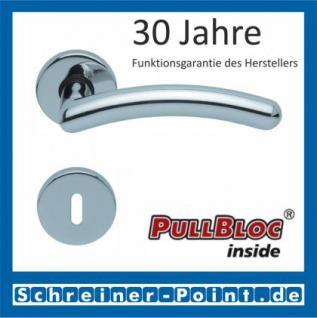 Scoop Prima PullBloc Rundrosettengarnitur Rosette Edelstahl poliert