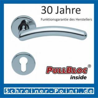 Scoop Prima PullBloc Rundrosettengarnitur Rosette Edelstahl poliert - Vorschau 2