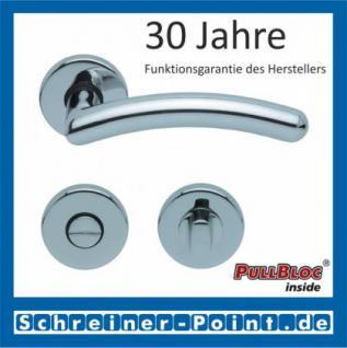 Scoop Prima PullBloc Rundrosettengarnitur Rosette Edelstahl poliert - Vorschau 3