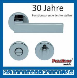 Scoop Quadra PullBloc Rundrosettengarnitur Rosette Edelstahl poliert - Vorschau 3