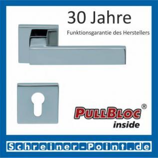 Scoop Quadra quadrat PullBloc Quadratrosettengarnitur, Rosette Edelstahl poliert - Vorschau 2