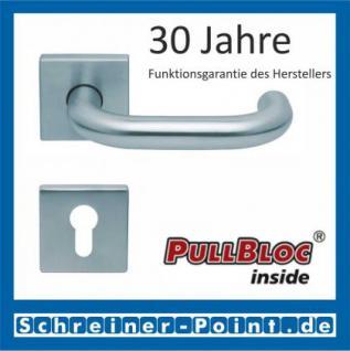 Scoop Ronda quadrat PullBloc Quadratrosettengarnitur, Rosette Edelstahl matt - Vorschau 2