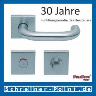 Scoop Ronda quadrat PullBloc Quadratrosettengarnitur, Rosette Edelstahl matt - Vorschau 4