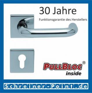 Scoop Ronda quadrat PullBloc Quadratrosettengarnitur, Rosette Edelstahl poliert - Vorschau 2