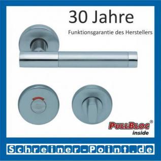 Scoop Roxy II PullBloc Rundrosettengarnitur, Rosette Edelstahl matt - Vorschau 4