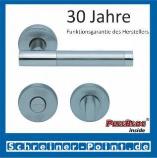 Scoop Roxy II PullBloc Rundrosettengarnitur, Rosette Edelstahl matt - Vorschau 3