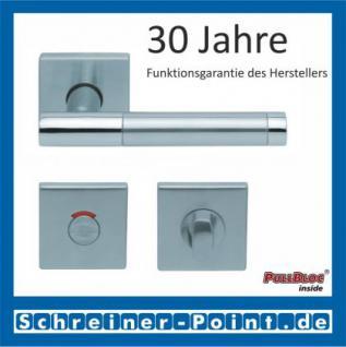 Scoop Roxy II quadrat PullBloc Quadratrosettengarnitur, Rosette Edelstahl matt - Vorschau 4