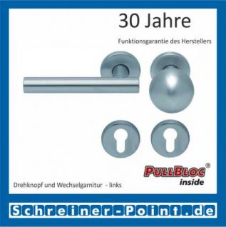 Scoop Roxy PullBloc Rundrosettengarnitur, Rosette Edelstahl matt - Vorschau 5