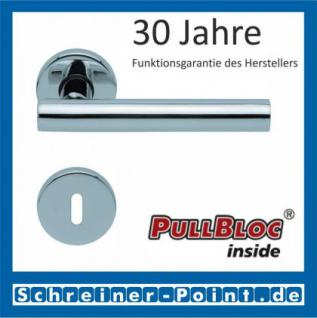 Scoop Roxy PullBloc Rundrosettengarnitur, Rosette Edelstahl poliert - Vorschau 1