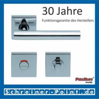 Scoop Roxy quadrat PullBloc Quadratrosettengarnitur, Rosette Edelstahl poliert - Vorschau 4
