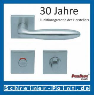 Scoop Sara quadrat PullBloc Quadratrosettengarnitur, Rosette Edelstahl matt - Vorschau 4