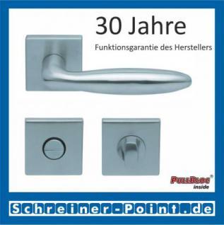 Scoop Sara quadrat PullBloc Quadratrosettengarnitur, Rosette Edelstahl matt - Vorschau 3