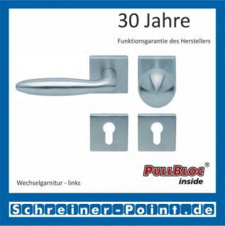Scoop Sara quadrat PullBloc Quadratrosettengarnitur, Rosette Edelstahl matt - Vorschau 5