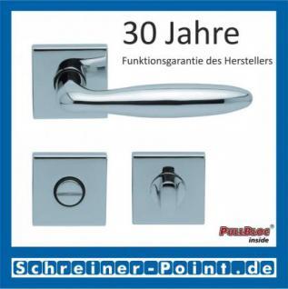 Scoop Sara quadrat PullBloc Quadratrosettengarnitur, Rosette Edelstahl poliert - Vorschau 3
