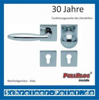 Scoop Sara quadrat PullBloc Quadratrosettengarnitur, Rosette Edelstahl poliert - Vorschau 5