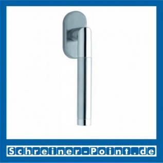 Scoop Chiara Fenstergriff Edelstahl matt Rosette oval,117441 - Vorschau