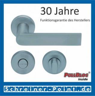 Scoop Semi PullBloc Rundrosettengarnitur Rosette Edelstahl matt - Vorschau 3