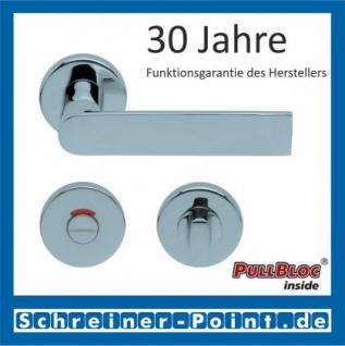 Scoop Semi PullBloc Rundrosettengarnitur Rosette Edelstahl poliert - Vorschau 4