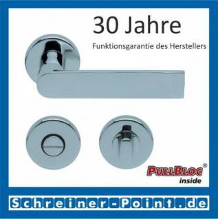 Scoop Semi PullBloc Rundrosettengarnitur Rosette Edelstahl poliert - Vorschau 3