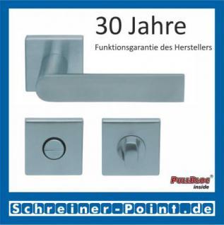 Scoop Semi quadrat PullBloc Quadratrosettengarnitur, Rosette Edelstahl matt - Vorschau 3