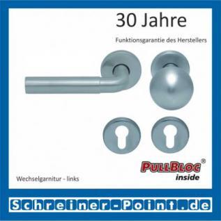 Scoop Skala PullBloc Rundrosettengarnitur, Rosette Edelstahl matt - Vorschau 5