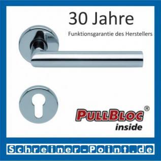 Scoop Thema PullBloc Rundrosettengarnitur, Rosette Edelstahl poliert - Vorschau 2