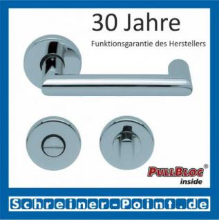 Scoop Thema U PullBloc Rundrosettengarnitur, Rosette Edelstahl poliert - Vorschau 3
