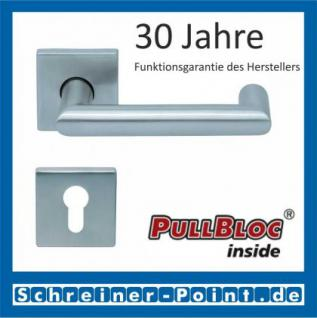 Scoop Thema U quadrat PullBloc Quadratrosettengarnitur, Rosette Edelstahl matt - Vorschau 2