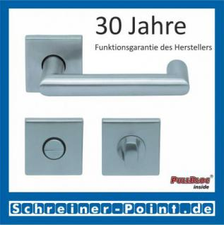 Scoop Thema U quadrat PullBloc Quadratrosettengarnitur, Rosette Edelstahl matt - Vorschau 3