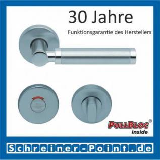 Scoop Ultimo PullBloc Rundrosettengarnitur, Rosette Edelstahl matt - Vorschau 4