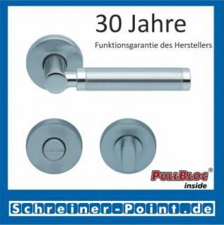 Scoop Ultimo PullBloc Rundrosettengarnitur, Rosette Edelstahl matt - Vorschau 3