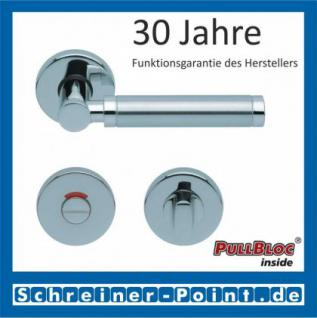Scoop Ultimo PullBloc Rundrosettengarnitur, Rosette Edelstahl poliert - Vorschau 4