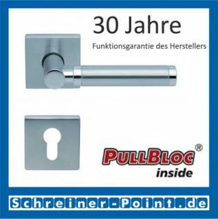 Scoop Ultimo quadrat PullBloc Quadratrosettengarnitur, Rosette Edelstahl matt - Vorschau 2