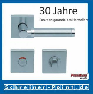 Scoop Ultimo quadrat PullBloc Quadratrosettengarnitur, Rosette Edelstahl matt - Vorschau 4