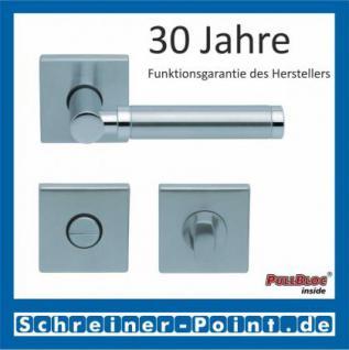 Scoop Ultimo quadrat PullBloc Quadratrosettengarnitur, Rosette Edelstahl matt - Vorschau 3