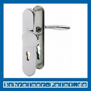 Schutzbeschlag Hoppe Verona F49-R Messing verchromt Resista M86G/3331/3310/151 ES1 (SK2), 3284301, 3235850